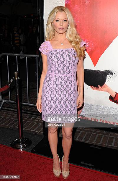 Actress Charlotte Ross arrives at the Los Angeles Premiere Waiting For Forever at Pacific Theaters at the Grove on February 1 2011 in Los Angeles...