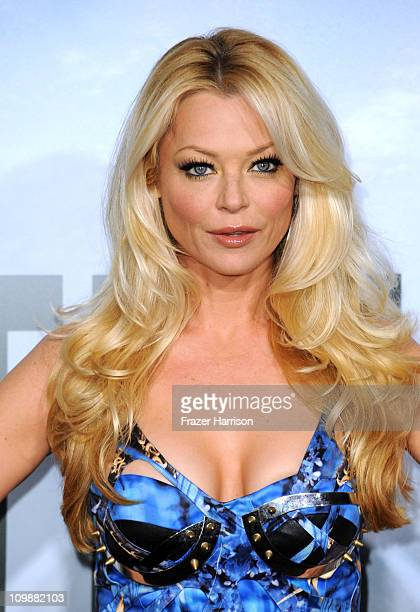 Actress Charlotte Ross arrives at the premiere of Columbia Pictures' Battle Los Angeles at the Regency Village Theater on March 8 2011 in Westwood...