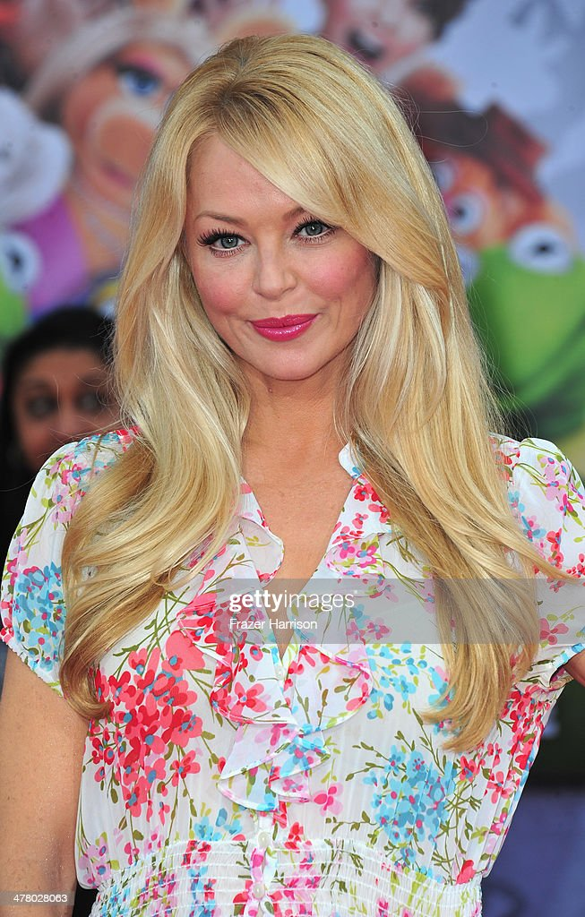 Actress Charlotte Ross arrives at the premiere Of Disney's 'Muppets Most Wanted' at the El Capitan Theatre on March 11, 2014 in Hollywood, California.