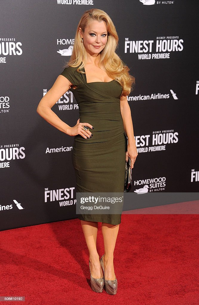 Actress Charlotte Ross arrives at the premiere of Disney's 'The Finest Hours' at TCL Chinese Theatre on January 25, 2016 in Hollywood, California.