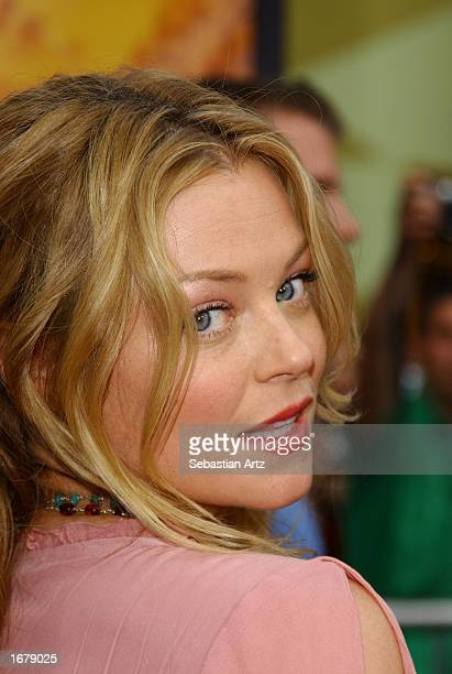 Actress Charlotte Ross arrives at the premiere screening of The Bourne Identity on June 6 2002 in Los Angeles California
