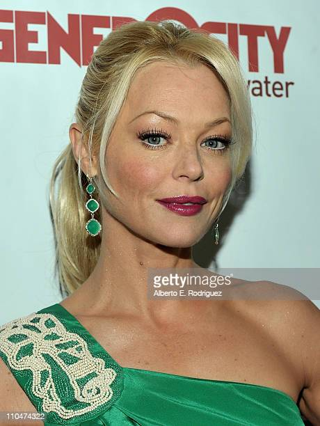 Actress Charlotte Ross arrives to Generosity Water's 3rd Annual Night of Generosity benefit on March 18 2011 in Los Angeles California