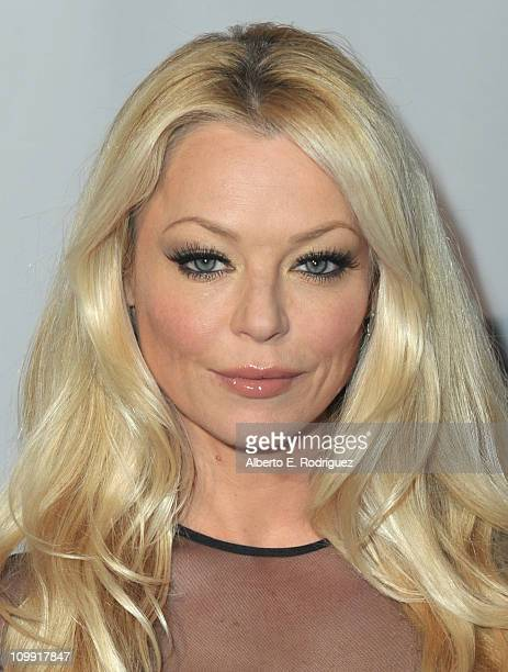 Actress Charlotte Ross arrives to the opening of Kirstie Alley's Organic Liaison Store on March 9 2011 in Los Angeles California