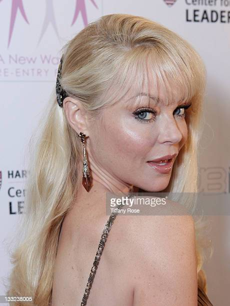 Actress Charlotte Ross attends A New Way Of Life Charity Gala Catching Falling Stars at Sheraton Hotel on November 17 2011 in Universal City...