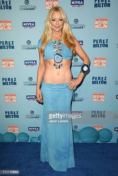 Actress Charlotte Ross attends Perez Hilton's Blue Ball birthday celebration on March 26 2011 in Hollywood California