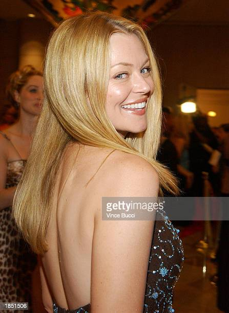 Actress Charlotte Ross attends the 17th Annual Genesis Awards at the Beverly Hilton Hotel on March 15 2003 in Beverly Hills California