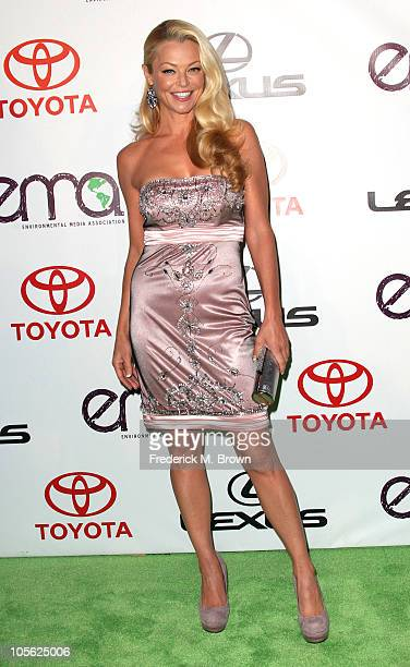 Actress Charlotte Ross attends the 20th annual Enviornmental Media Association Awards at Warner Brothers Studios on October 16 2010 in Burbank...