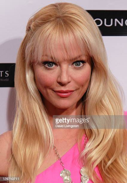 Actress Charlotte Ross attends the Breast Cancer Charities of America Pink Carpet Fashion Show at SupperClub Los Angeles on October 19 2011 in Los...