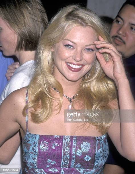 Actress Charlotte Ross attends The Cell Century City Premiere on August 17 2000 at Loews Cineplex Century Plaza Theatres in Century City California