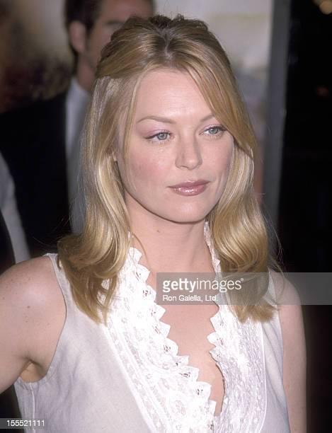 Actress Charlotte Ross attends the Collateral Damage Hollywood Premiere on February 4 2002 at Mann Village Theatre in Westwood California