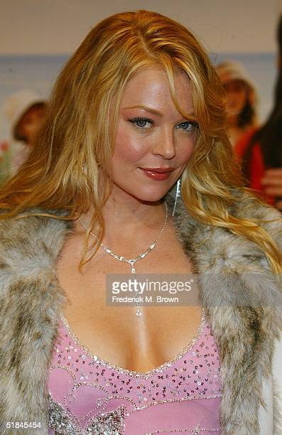 Actress Charlotte Ross attends the film premiere of Spanglish at the Mann Village Theater on December 9 2004 in Westwood California