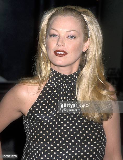 Actress Charlotte Ross attends the Grand Opening Celebration of the Badgley Mischka Boutique on September 7 2000 at the Badgley Mischka Boutique 202...