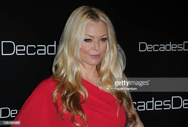 Actress Charlotte Ross attends the launch party of Decades Denim presented by Cameron Silver and Angelique Soave on November 2 2010 in Beverly Hills...