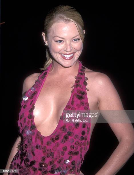 Actress Charlotte Ross attends the Party to Celebrate the Release of 'N Sync's New Album Celebrity on July 23 2001 at Moomba Restaurant in West...