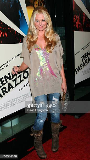 """Actress Charlotte Ross attends the premiere of HBO Documentary Films' """"Teenage Paparazzo"""" at the Pacific Design Center on September 21, 2010 in West..."""