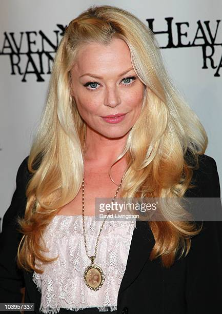 Actress Charlotte Ross attends the premiere of Heaven's Rain at ArcLight Cinemas on September 9 2010 in Hollywood California