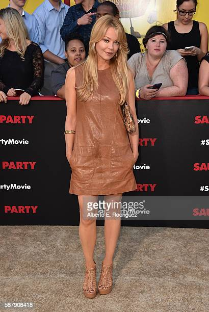 Actress Charlotte Ross attends the premiere of Sony's 'Sausage Party' at Regency Village Theatre on August 9 2016 in Westwood California