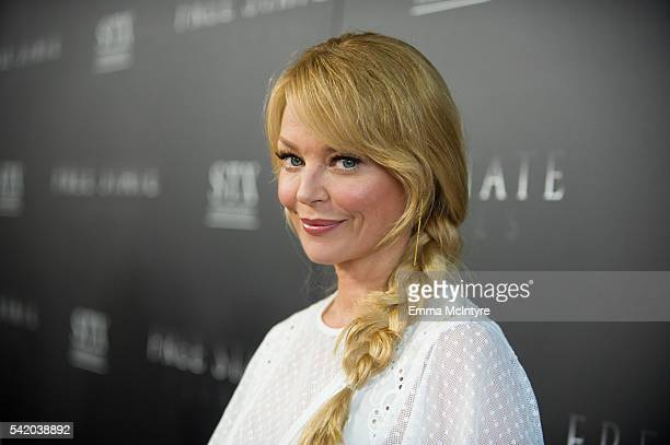 Actress Charlotte Ross attends the premiere of STX Entertainment's 'Free State of JonesÕ at DGA Theater on June 21 2016 in Los Angeles California