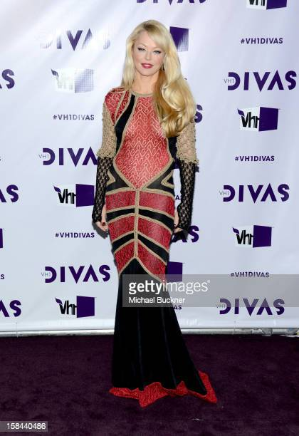 Actress Charlotte Ross attends VH1 Divas 2012 at The Shrine Auditorium on December 16 2012 in Los Angeles California