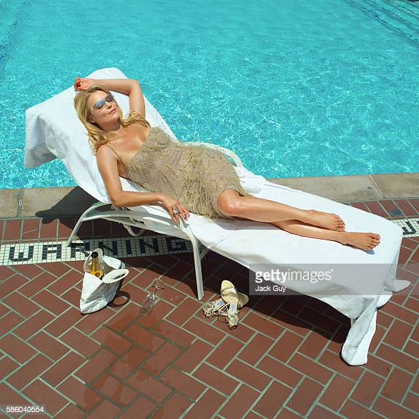 Actress Charlotte Ross is photographed for Emmy Magazine in 2003 in Los Angeles California PUBLISHED IMAGE