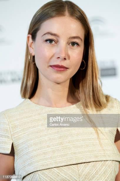 Actress Charlotte Vega attends 'La Banda' photocall during the 22th Malaga Film Festival on March 20 2019 in Malaga Spain