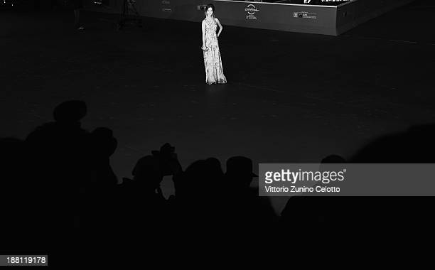 Actress Charlotte Vega attends the 'Another Me' Premiere during The 8th Rome Film Festival at Auditorium Parco Della Musica on November 15 2013 in...