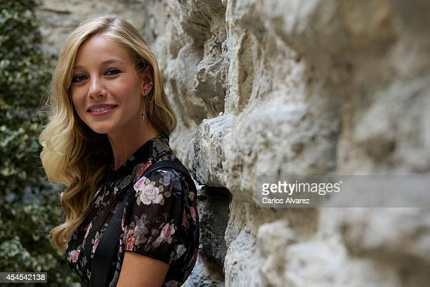 Actress Charlotte Vega attends the Refugiados photocall during the 6th FesTVal Television Festival 2014 day 3 at the Villa Suso Palace on September 3...