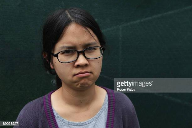 Actress Charlyne Yi attends the Pitchfork Music Festival at Union Park on July 18 2009 in Chicago