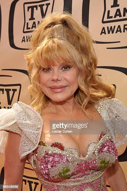 Actress Charo arrives at the 8th Annual TV Land Awards at Sony Studios on April 17 2010 in Los Angeles California