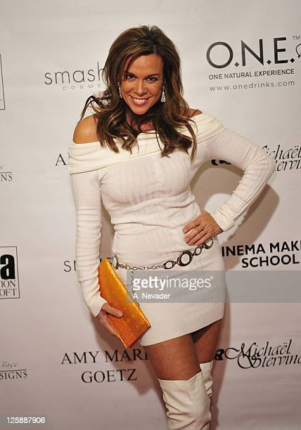 Actress Chase Masterson attends the Amy Marie Goetz Runway Show Benefiting Agenda Foundation at Agenda Loft on February 3 2011 in Los Angeles...