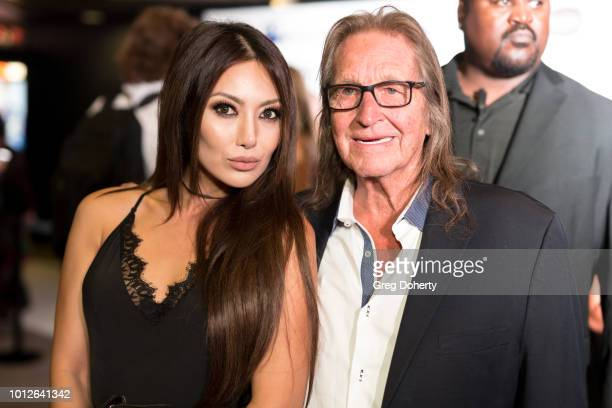 Actress Chasty Ballesteros and George Jung attends George Jung's Birthday Celebration And Screening Of Blow at TCL Chinese 6 Theatres on August 6...