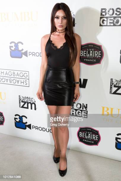Actress Chasty Ballesteros attends George Jung's Birthday Celebration And Screening Of Blow at TCL Chinese 6 Theatres on August 6 2018 in Hollywood...