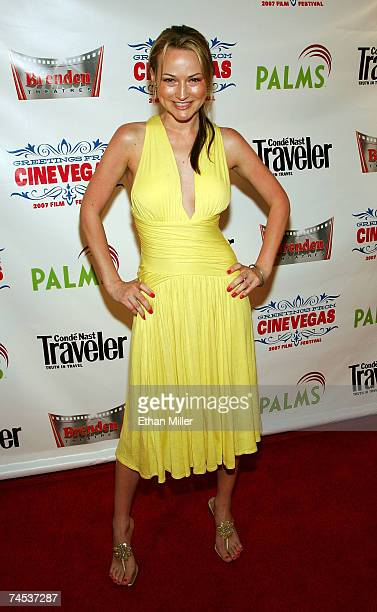 Actress Chauntae Davies attends the Have Love Will Travel screening held at the Brenden Theatres inside the Palms Casino Resort during the CineVegas...
