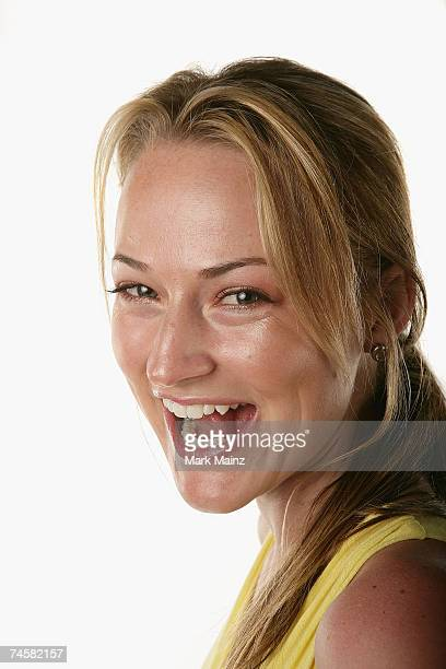 Actress Chauntae Davies from the film Have Love Will Travel poses for a portrait during the 2007 CineVegas film festival on June 11 2007 at the Palms...