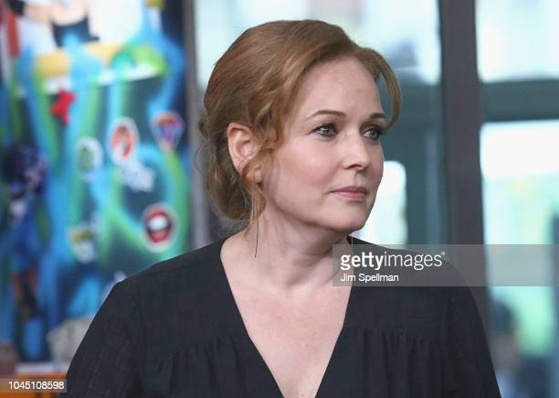 Actress Chelah Horsdal attends the Build Series to discuss The Man in the High Castle at Build Studio on October 3 2018 in New York City