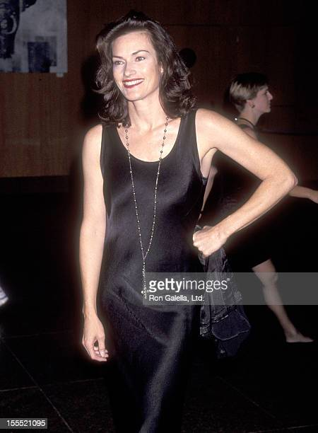 Actress Chelsea Field attends the WGA/DGA Preston Sturges Award Salute on October 24 1993 at DGA Theatre in West Hollywood California