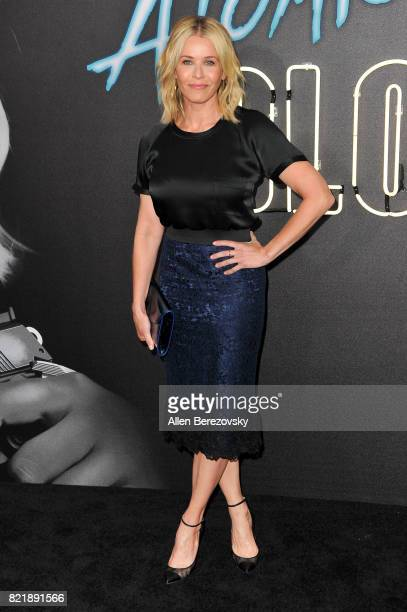 "Actress Chelsea Handler attends the premiere Of Focus Features' ""Atomic Blonde"" at The Theatre at Ace Hotel on July 24, 2017 in Los Angeles,..."