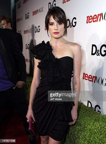 Actress Chelsea Hobbs arrives at the 7th Annual Teen Vogue Young Hollywood Party held at Milk Studios on September 25, 2009 in Hollywood, California.
