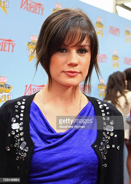 Actress Chelsea Hobbs arrives at Variety's 3rd annual Power of Youth event held at Paramount Studios on December 5 2009 in Los Angeles California