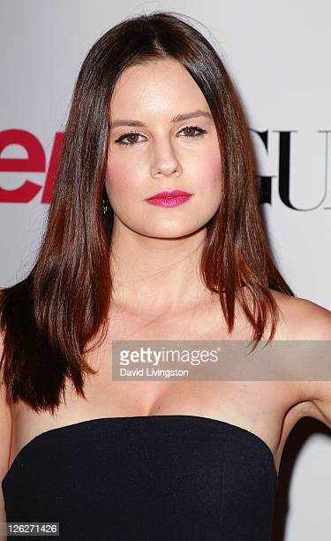 Actress Chelsea Hobbs attends the 9th annual Teen Vogue's Young Hollywood party at Paramount Studios on September 23 2011 in Los Angeles California