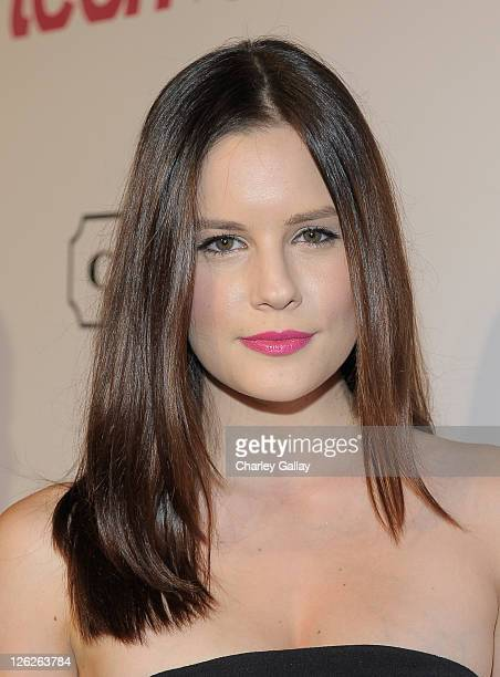 Actress Chelsea Hobbs attends the Ninth Annual Teen Vogue Young Hollywood Party at Paramount Studios on September 23 2011 in Hollywood California