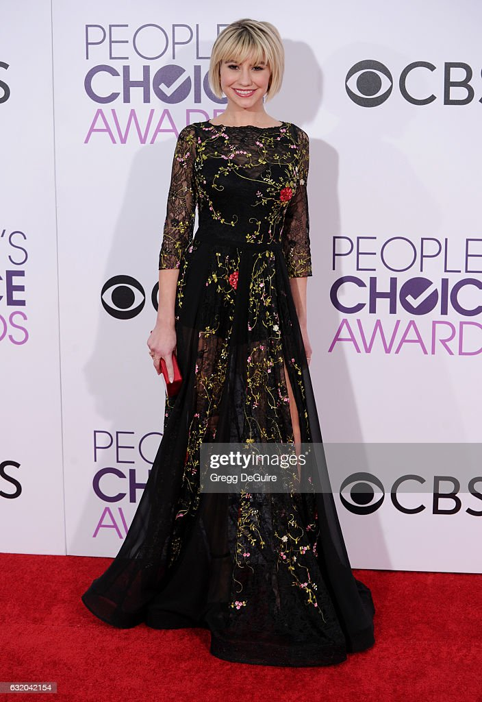 Actress Chelsea Kane arrives at the 2017 People's Choice Awards at Microsoft Theater on January 18, 2017 in Los Angeles, California.