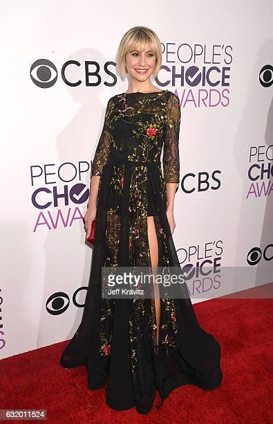 Actress Chelsea Kane attends the People's Choice Awards 2017 at Microsoft Theater on January 18 2017 in Los Angeles California