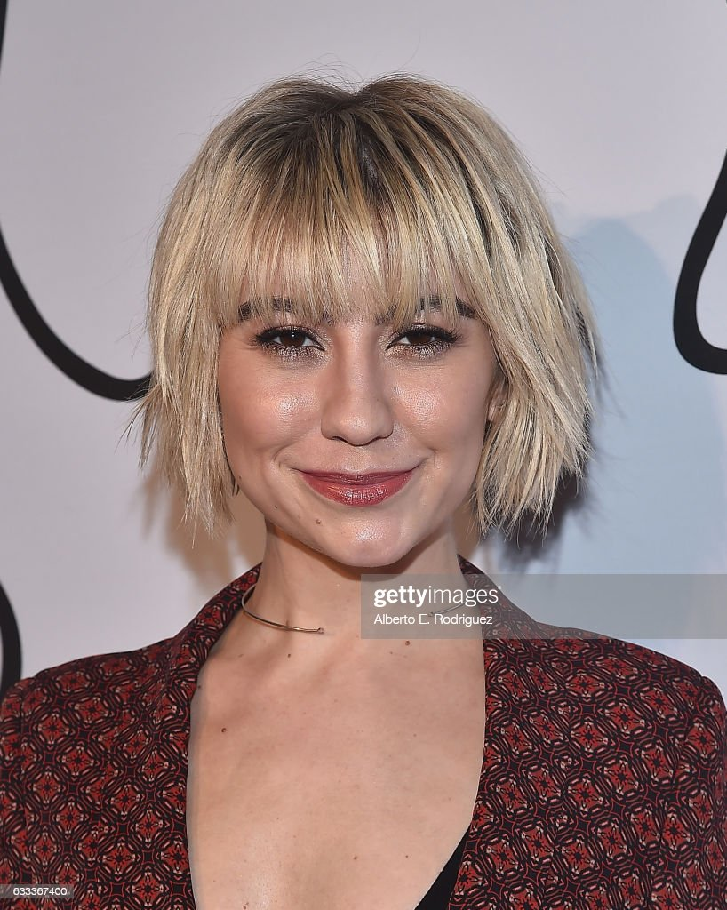Actress Chelsea Kane attends Tyler Ellis Celebrates the 5th Anniversary And Launch Of Tyler Ellis x Petra Flannery Collection at Chateau Marmont on January 31, 2017 in Los Angeles, California.