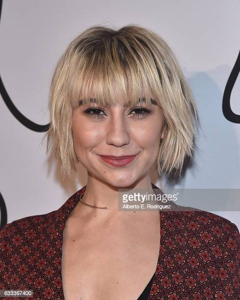 Actress Chelsea Kane attends Tyler Ellis Celebrates the 5th Anniversary And Launch Of Tyler Ellis x Petra Flannery Collection at Chateau Marmont on...