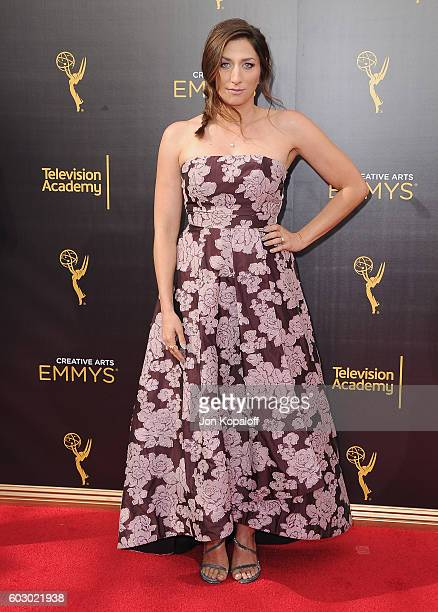 Actress Chelsea Peretti arrives at the 2016 Creative Arts Emmy Awards at Microsoft Theater on September 11 2016 in Los Angeles California
