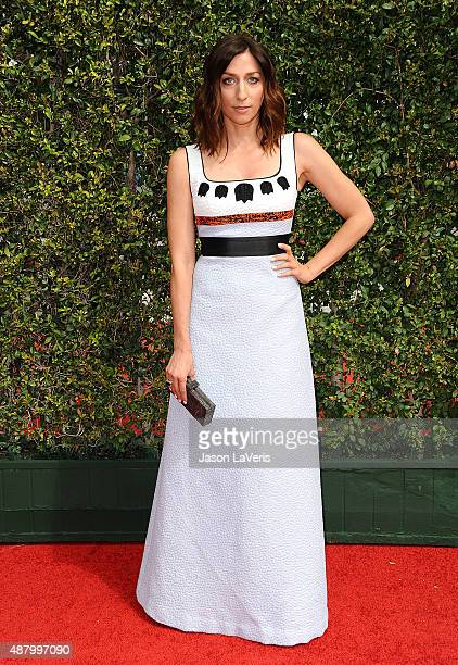 Actress Chelsea Peretti attends the 2015 Creative Arts Emmy Awards at Microsoft Theater on September 12 2015 in Los Angeles California
