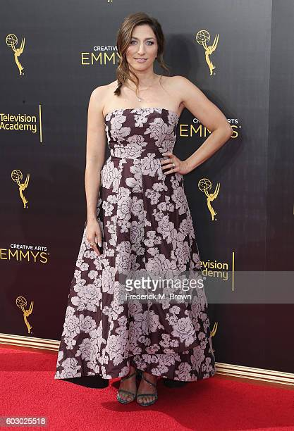 Actress Chelsea Peretti attends the 2016 Creative Arts Emmy Awards at Microsoft Theater on September 11 2016 in Los Angeles California