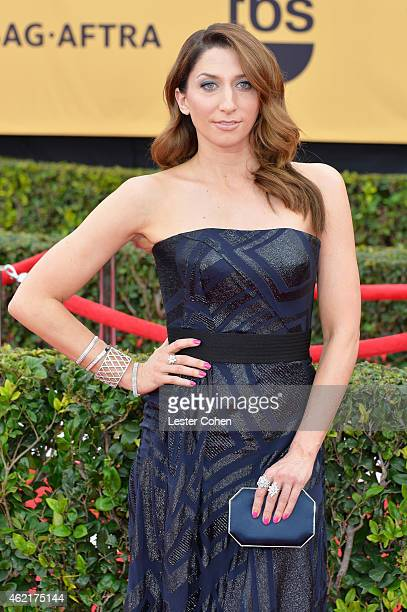 Actress Chelsea Peretti attends the 21st Annual Screen Actors Guild Awards at The Shrine Auditorium on January 25 2015 in Los Angeles California