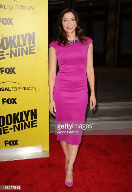 Actress Chelsea Peretti attends the 'Brooklyn NineNine' steakout block party and special screening event at Universal Studios Backlot on May 22 2014...